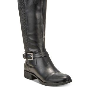 Style & Co. brown riding boots, worn once EUC!
